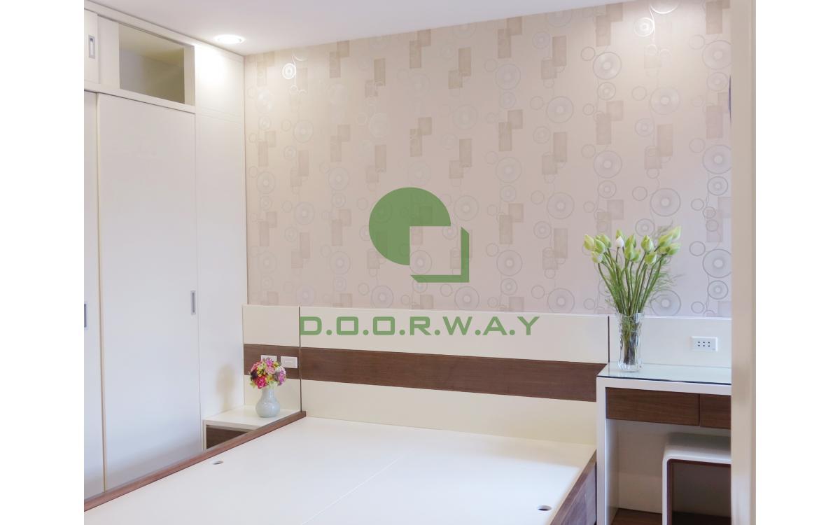 Giấy dán tường Hàn Quốc dành cho phòng ngủ vợ chồng