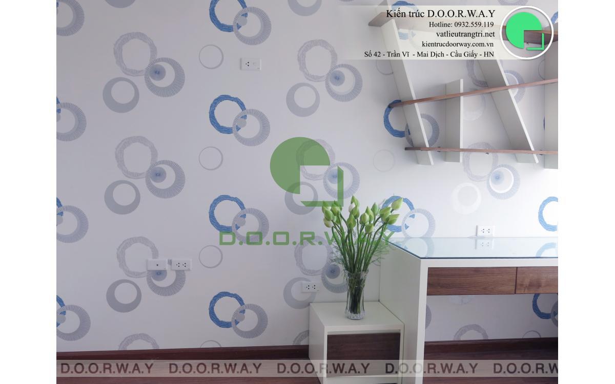 Giấy dán tường Hàn Quốc cho phòng ngủ bé trai đẹp